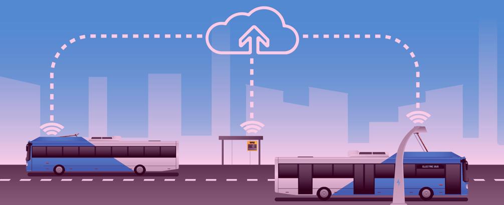 Умен обществен транспорт