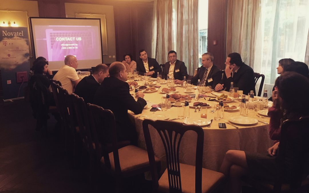 Why should a Business Breakfast be part of a Finance Industry?